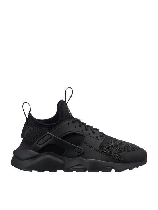 brand new 9fbaf 0fe58 Nike Air Huarache Run Ultra SE Junior Trainer - Black