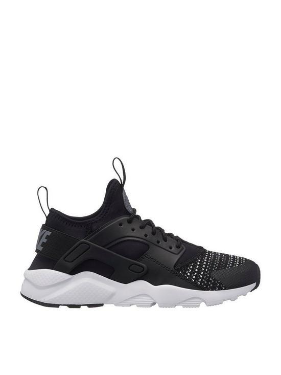 81af0f8ed Nike Air Huarache Run Ultra Se Junior - Black