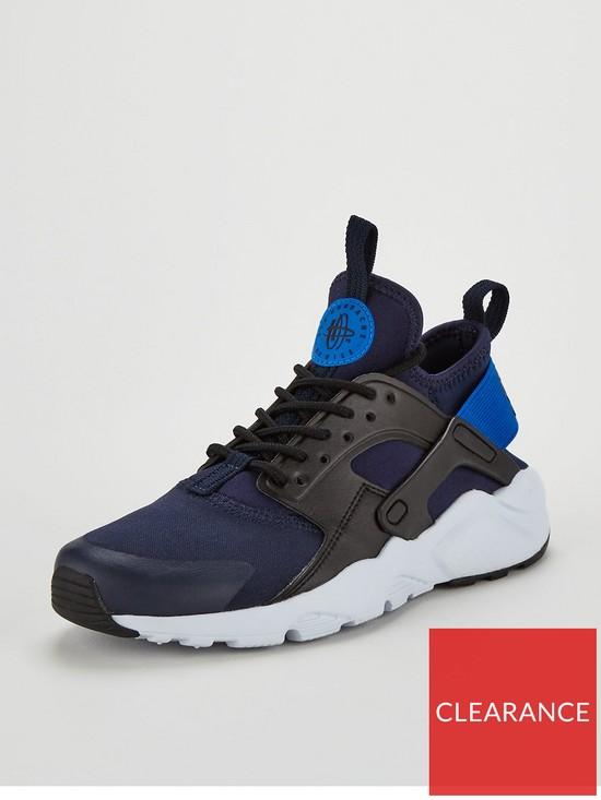 54bf2ebbf316 Nike Air Huarache Run Ultra Junior - Navy Blue