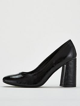v-by-very-columbia-square-toe-flare-block-heel-court-shoe-black