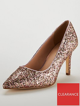 v-by-very-delta-mid-point-court-shoe-rose-gold