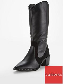 v-by-very-sienna-point-western-calf-boot-black
