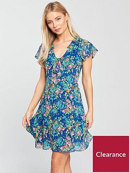 oasis-painted-posy-tea-dress-blue