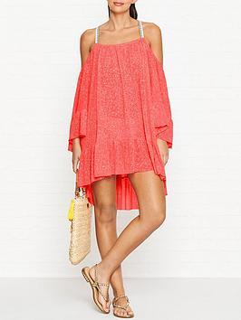 pitusa-dancingnbspcold-shouldernbspneon-dress-pink