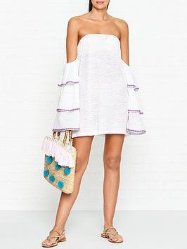 pitusa-latina-ruffle-sleeve-off-shoulder-dress-white