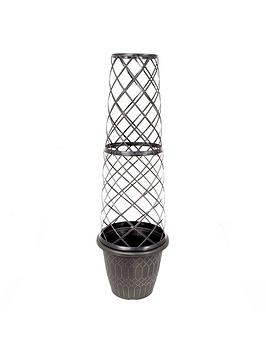 Compare retail prices of 1.3 Metre Tower Pot And Trellis to get the best deal online