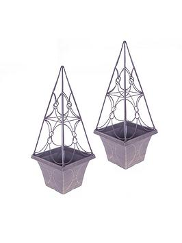 pair-eclipse-trellis-planters