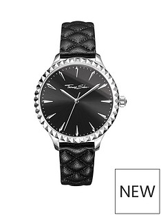 thomas-sabo-thomas-sabo-rebel-at-heart-pyramid-studs-black-leather-strap-ladies-watch