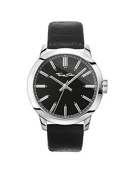 thomas-sabo-rebel-at-heart-black-dial-stainless-steel-mens-watch