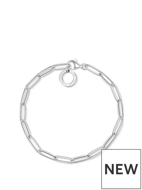 thomas-sabo-sterling-silver-paperclip-link-17cm-charm-carrier-bracelet