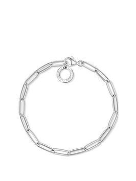 thomas-sabo-thomas-sabo-sterling-silver-paper-clip-link-17cm-charm-carrier-bracelet