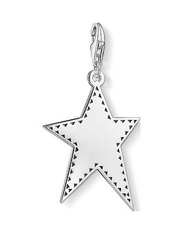 thomas-sabo-thomas-sabo-sterling-silver-irregular-superstar-star-charm