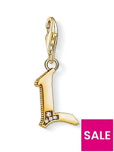 thomas-sabo-thomas-sabo-18k-gold-plate-sterling-silver-cubic-zirconia-set-letter-l-charm