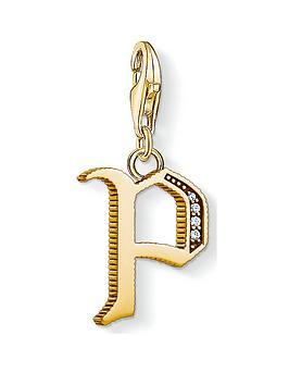 thomas-sabo-thomas-sabo-18k-gold-plate-sterling-silver-filigree-charm