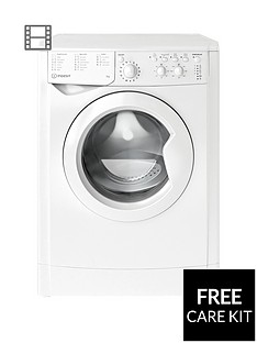 Indesit EcoTime IWC71252ECO 7kg Load, 1200 Spin Washing Machine - White