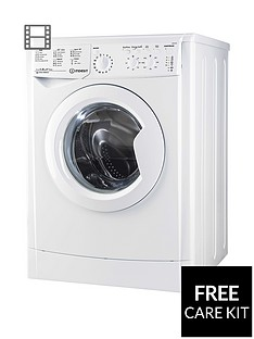 Indesit EcoTime IWC81252ECO 8kg Load, 1200 Spin Washing Machine - White