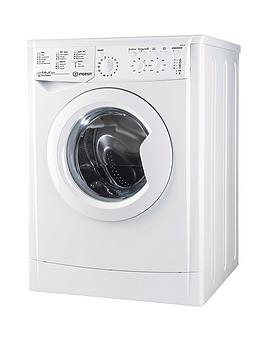 Indesit Ecotime Iwc81252Eco 8Kg Load, 1200 Spin Washing Machine - White Best Price, Cheapest Prices