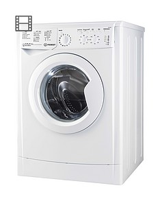 Indesit EcoTime IWC91282ECO 9kg Load, 1200 Spin Washing Machine - White