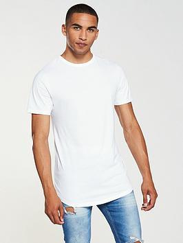 river-island-double-curve-hem-t-shirt