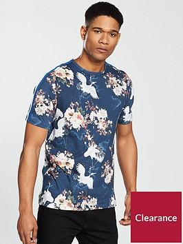 river-island-crane-aop-t-shirt