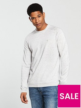 river-island-ash-knitted-crew-neck-jumper