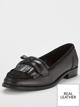 v-by-very-wide-fit-madras-flat-leather-loafer