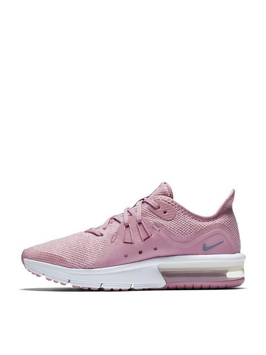 fa440cfadf ... authentic nike air max sequent 3 junior trainers pink grey very 81295  d3584