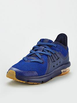 nike-air-max-sequent-3-childrens-trainers-navyblue
