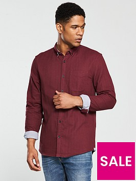 river-island-long-sleeve-double-face-shirt
