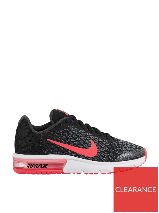 nike air max zwart junior