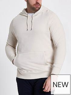 river-island-big-and-tall-sleek-oth-hoody