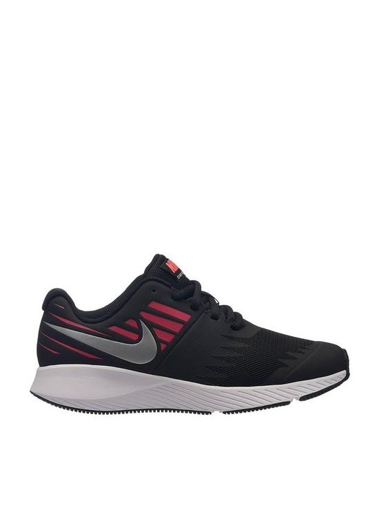 af9d723589 Nike Star Runner Junior Trainer - Black/Red | very.co.uk