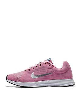 nike-downshifter-8-junior-trainers-pinksilver