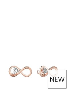 guess-guess-rose-gold-plated-infinity-symbol-ladies-earrings