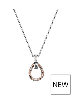 hot-diamonds-sterling-silver-and-rose-gold-plated-accents-breeze-teardrop-pendant