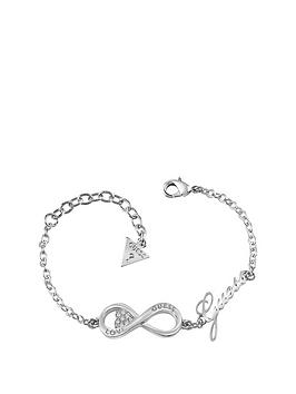 guess-rhodium-plated-infinity-symbol-ladies-bracelet