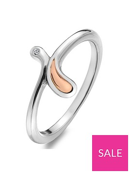 hot-diamonds-sterling-silver-and-rose-gold-plated-accents-droplet-ring