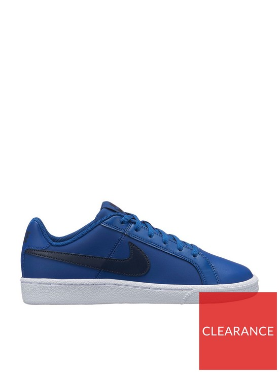 6332fb86be Nike Court Royale Junior Trainers - Navy | very.co.uk