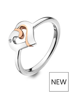 hot-diamonds-together-ring-with-rose-gold-plated-accents