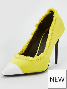 v-by-very-canada-contrast-toe-cap-high-point-court-yellow