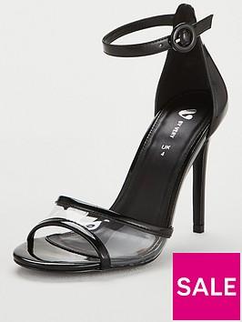 v-by-very-brisbane-square-toe-high-minimal-vinyl-sandal