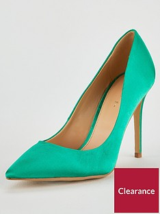 v-by-very-chic-high-point-court-shoe-green