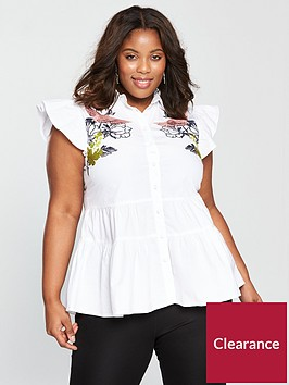 lost-ink-plus-blouse-with-bird-embroidery-white