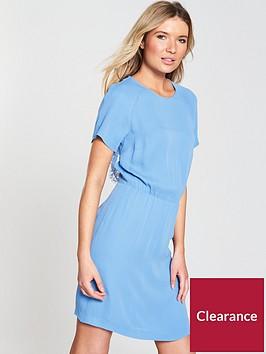 samsoe-samsoe-reya-dress-silver-lake-blue