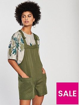 native-youth-dungaree-playsuit-olive