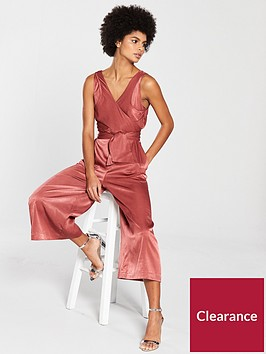 native-youth-luxe-culotte-wrap-jumpsuit-rust
