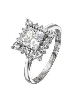 love-gem-9-carat-white-gold-square-cubic-zirconia-ring