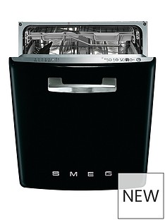 smeg-di6fabbl-60cm-50s-style-built-in-dishwasher-with-13-place-settings-and-flexiduo-baskets-black