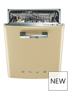 smeg-di6fabcr-60cm-50s-style-built-in-dishwasher-with-13-place-settings-and-flexiduo-baskets-cream