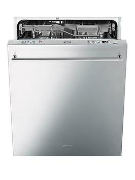 smeg-di614pss-60cm-fully-integrated-14-place-dishwasher-withnbspflexiduo-baskets-stainless-steel
